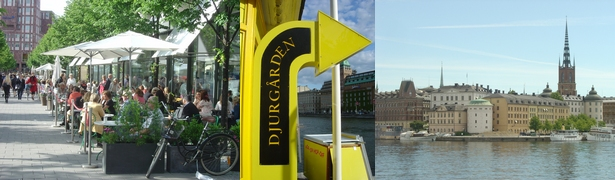 Sprachkurse in Schweden - Stockholm Djurgården