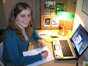 Skype Unterricht