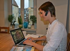 Skype-Unterricht