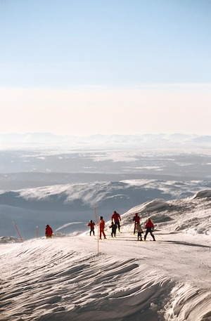 Winter-Schwedischkurs Åre 1